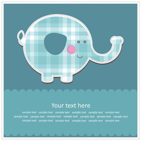 baby boy shower: nice baby card.