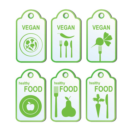 cook labels set.  Vector
