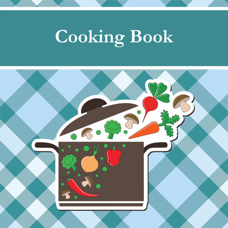 cooking book cover.