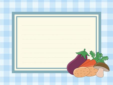 readymade: recipe blank. Illustration