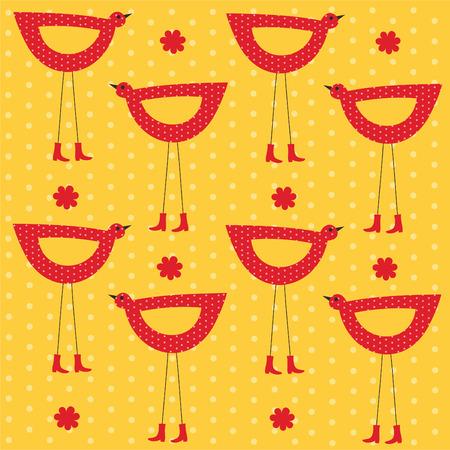childlike: seamless childlike pattern.  Illustration
