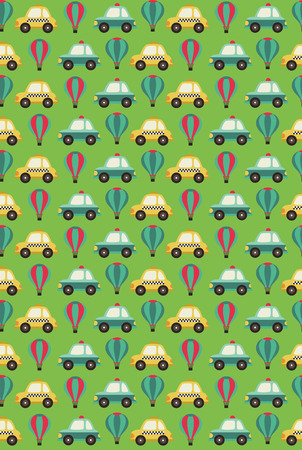 baby seamless pattern design with cute owl. vector illustration Vector