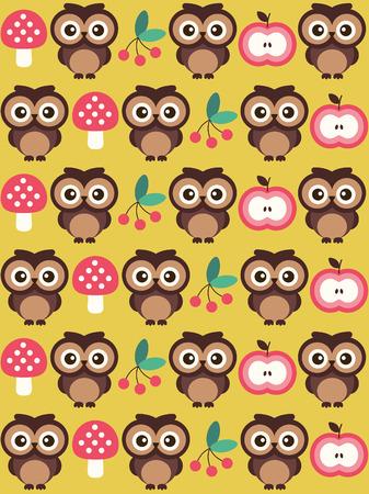 cute baby pattern design. vector illustration Vector