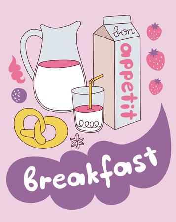 food card design. vector illustration Vector