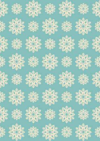 lining: snowflake seamless pattern design. vector illustration