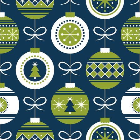 christmas seamless pattern design. vector illustration