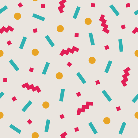 abstract confetti background pattern. vector illustration Illustration