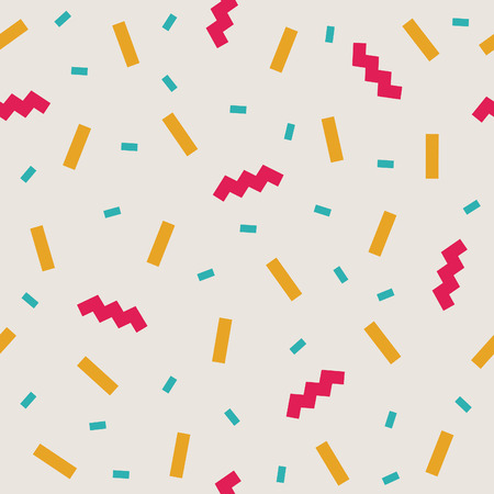 abstract confetti background pattern. vector illustration Иллюстрация