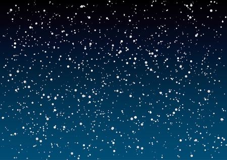stars sky: Night sky vector illustration.