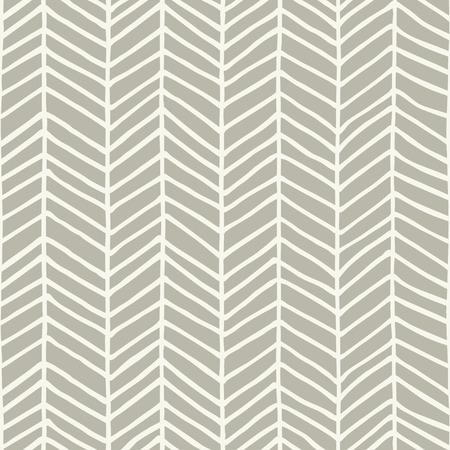 Hand drawn herringbone pattern design. Vector illustration.