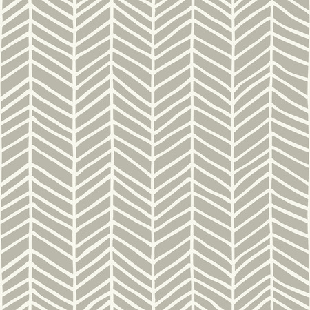 Hand drawn herringbone pattern design. Vector illustration.