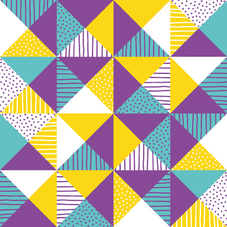 chaotically: Geometric background. Vector illustration.
