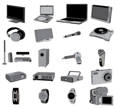 electronic devices Ilustração