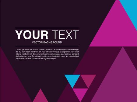 Template design modern background purple dark vector