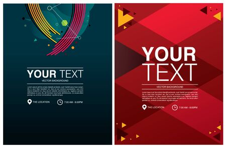 background design template text