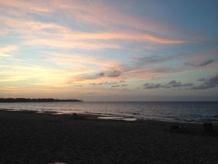 カバレテ 2 の夕日