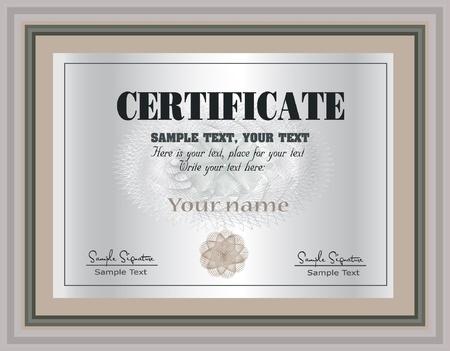 prospectus: Certificate Frame