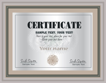 Certificate Frame Stock Vector - 9277901