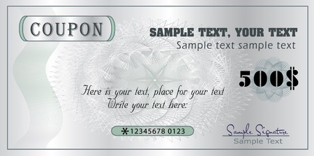 coupon template: Coupon template
