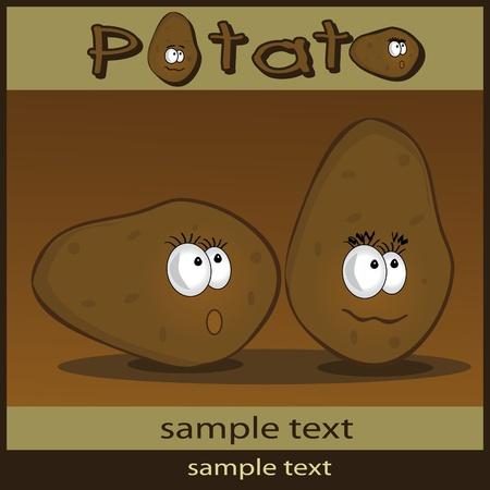 potato: Potato cartoon