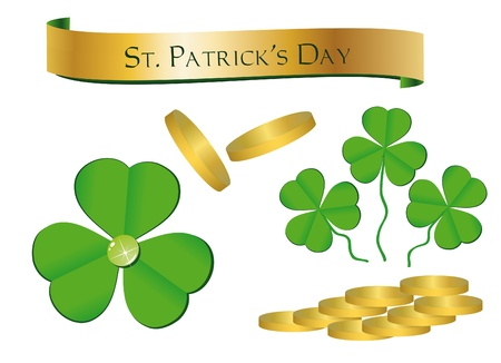 St. Patrick's Day - Objects Stock Vector - 9337310