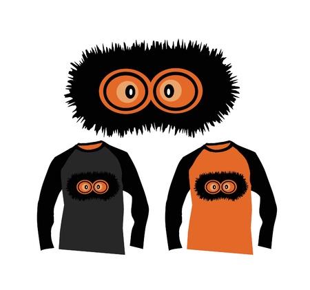 T-shirt bugaboo  Vector