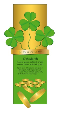 St. Patrick's Day - Banner  Stock Vector - 9337324