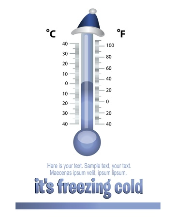calibrated: thermometer Cap