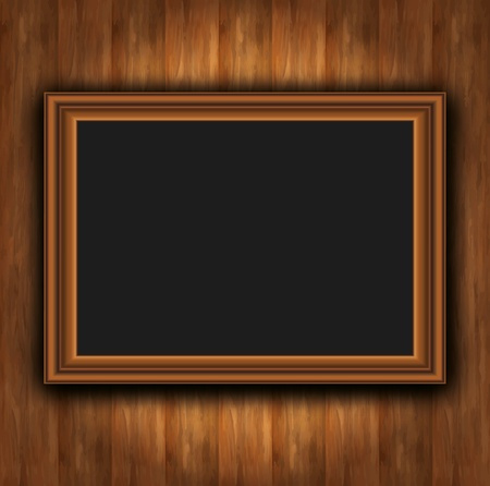 Frame wood board photoframe