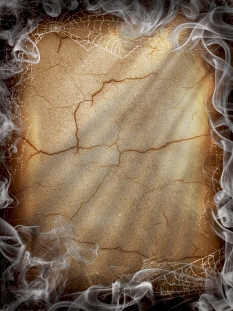 Halloween Dark Fire smoke  photo