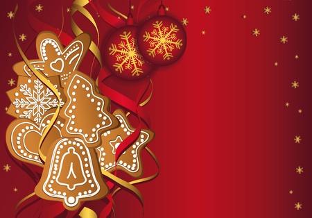 adornment: Christmas gingerbread templates