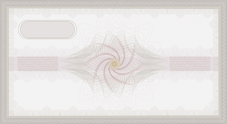 raster Voucher Guilloche coupon certificate template security spirograph