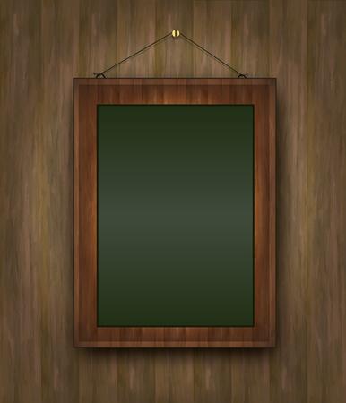 raster blackboard wood menu picture green  photo
