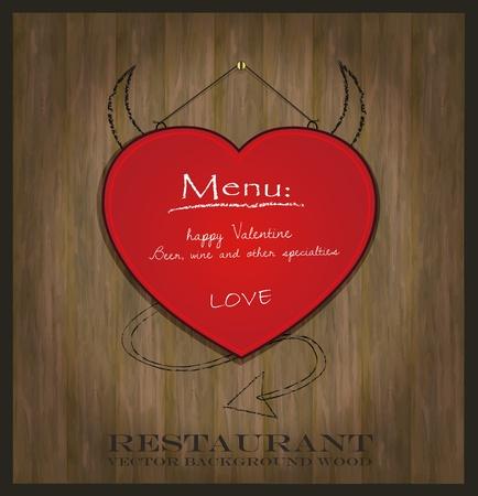 eyecatcher: vector blackboard heart Valentine love red