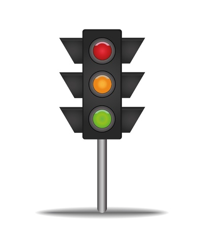 semaphore: semaphore signal traffic Illustration