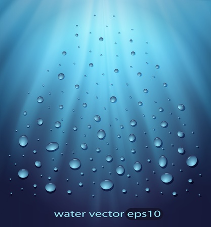 dewy: vector water blue background drops