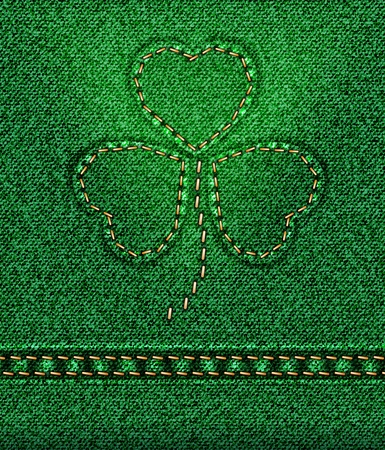 raster Jeans St. Patrick Stock Photo - 12208877