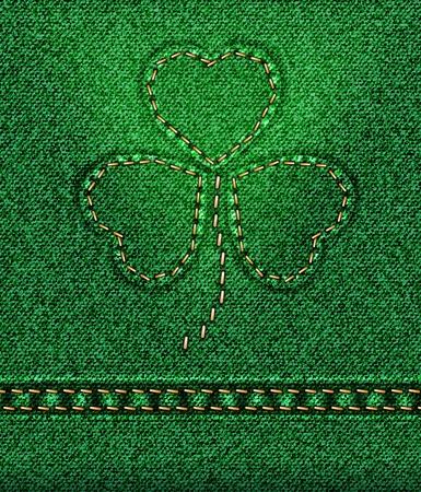 raster Jeans St. Patrick Stock Photo - 12208877