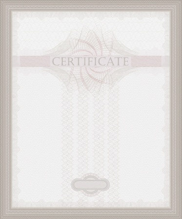 raster Certificate Guilloche template security spirograph photo