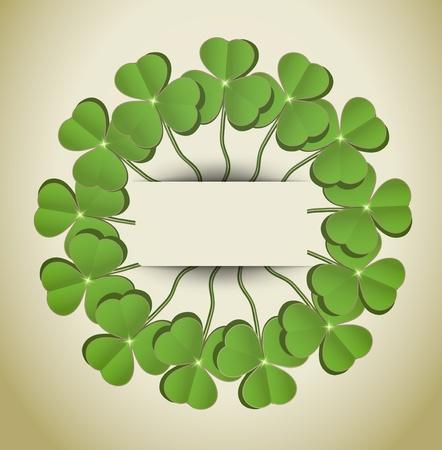 raster St. Patrick day circle Stock Photo - 12208894