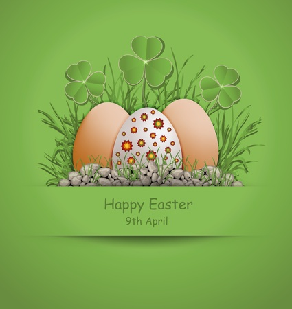 Easter Egg green Vector