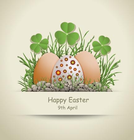 Easter Egg paper Stock Vector - 12492117