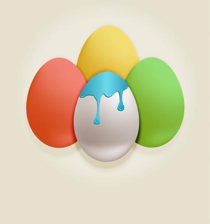 raster Easter Egg color Stock Photo - 12681413