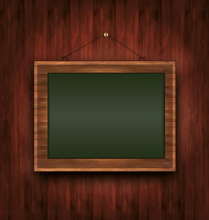 raster blackboard wooden menu Todays special green photo