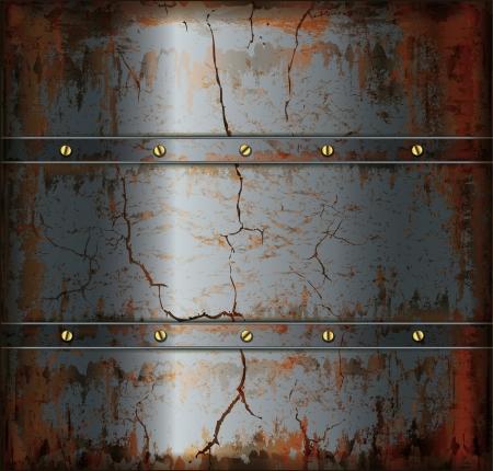 croix de fer: la texture du m�tal rouill� fond