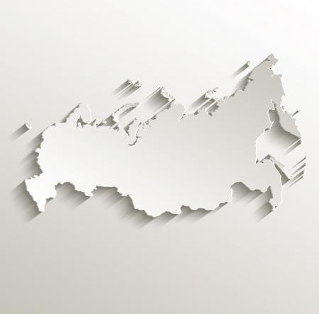 russland karte: Russland Karte Kartenpapier 3D nat�rliche Raster