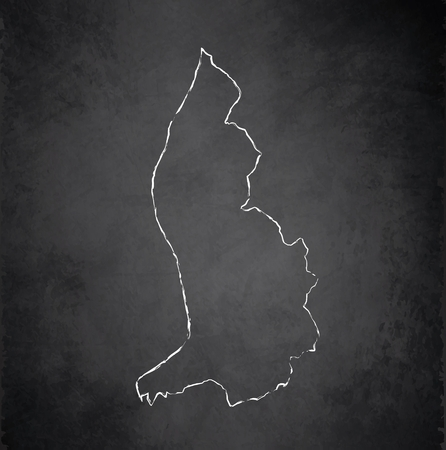 liechtenstein: Liechtenstein maps blackboard chalkboard raster Stock Photo