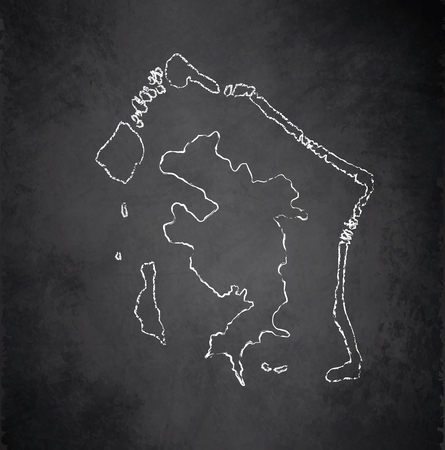 borabora: Bora-Bora map blackboard chalkboard raster French Polynesia