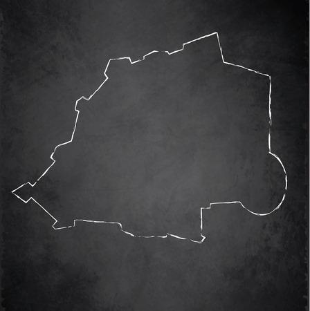 raster: Vatican map Italy blackboard chalkboard raster