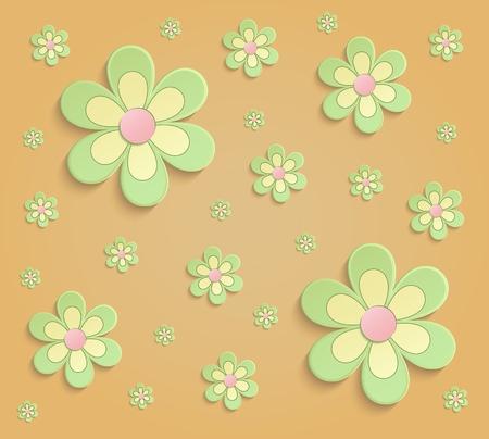 Spring flowers 3d paper orange green wallpaper raster stock photo spring flowers 3d paper orange green wallpaper raster stock photo 55483389 mightylinksfo